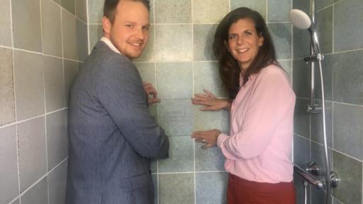 Eerste circulaire badkamer van Nederland opgeleverd