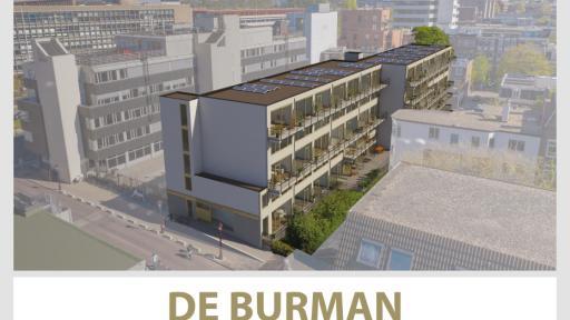 Nieuwbouw 8 appartementen Burmandwarsstraat