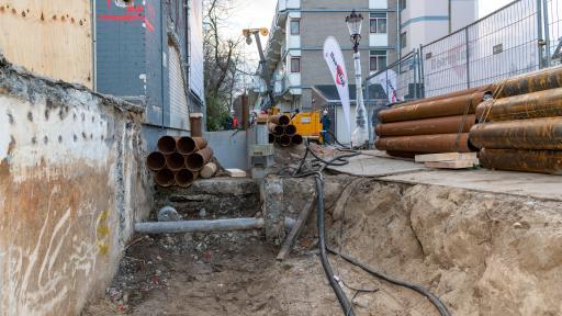 Eerste heipaal geslagen project De Burmandwarsstraat