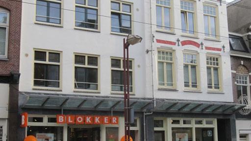 Winkel en 4 woningen Middenweg Amsterdam