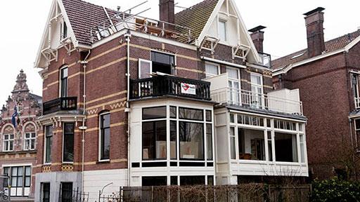 Monumentaal pand Koninginneweg Amsterdam