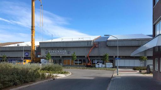 Vervanging dak en gevelafwerking De Meent 14-22 Lelystad