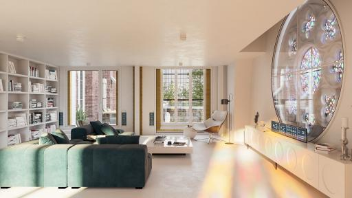 9 Appartementen Joseph Kerk Alkmaar